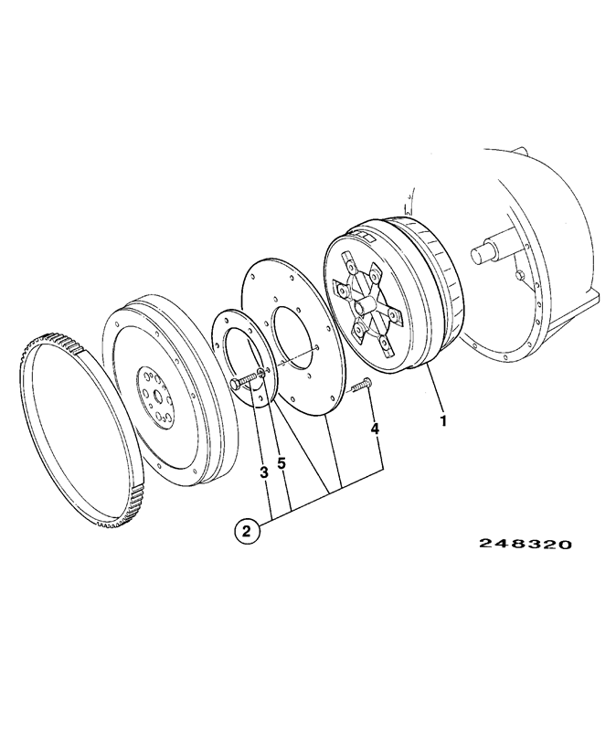940 2wd Spare Parts