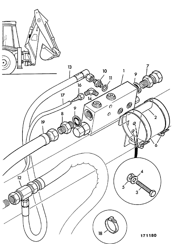 Installation Dipper Ram Hose Burst Protection: Jcb 4cx Wiring Diagram At Ultimateadsites.com