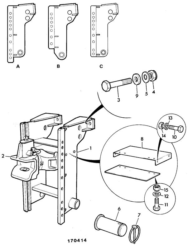 155t spare parts Simple Ladder Diagram ladder hitch assembly rockinger