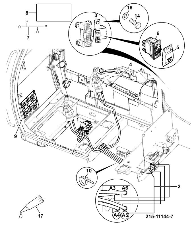 Pilot Control Wiring Diagram Jcb Electrical Circuit Electrical