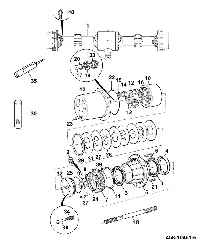 f01 axles front