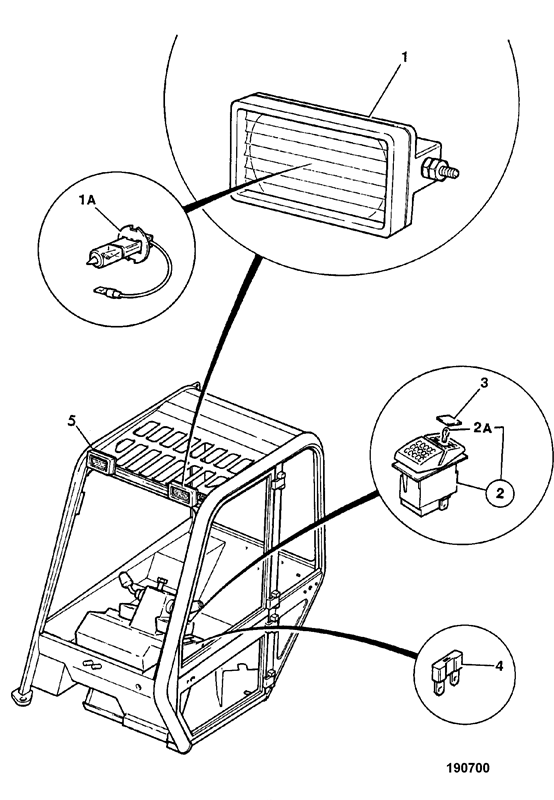 Black Cartoons Electrician Fuse Box