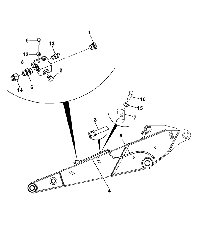 Js240 Standard Carriage Tier 4 Spare Parts