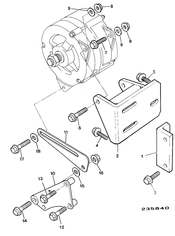 Alternator Mountings Electrical Equipment
