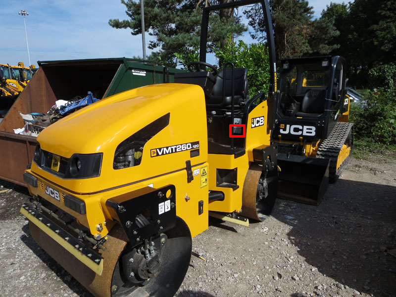 How to find your PIN number Jcb B Wiring Diagram on