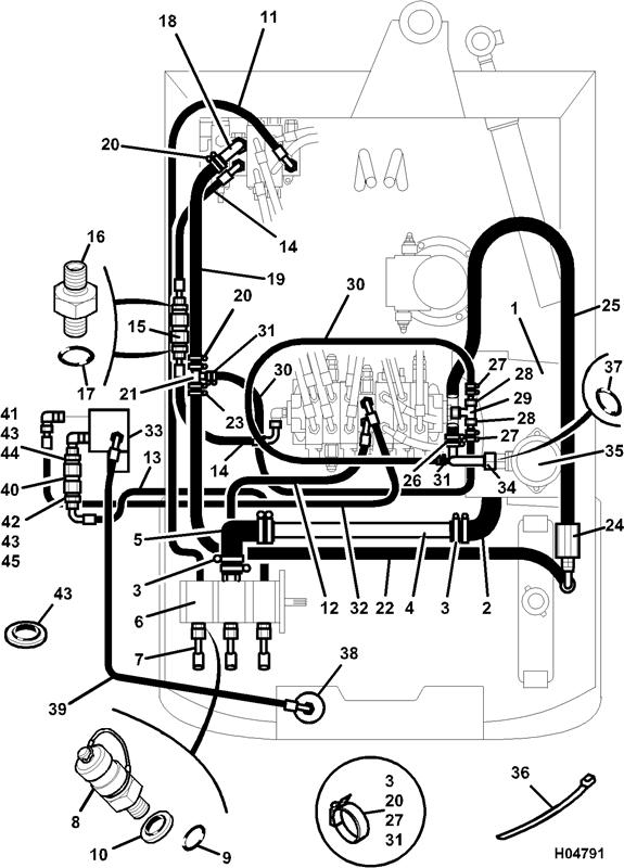 801 4 spare parts