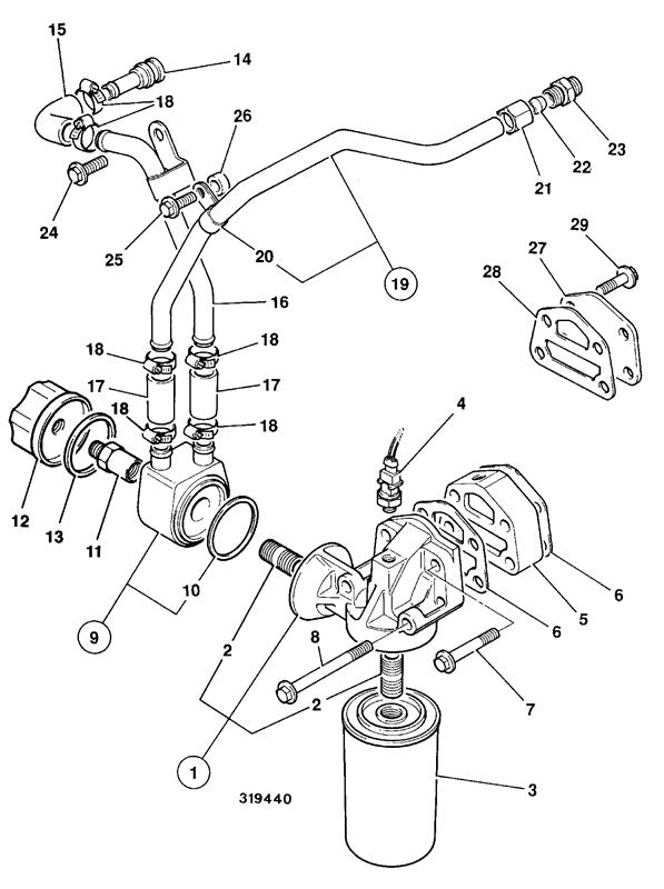 Perkins Fuel Pump