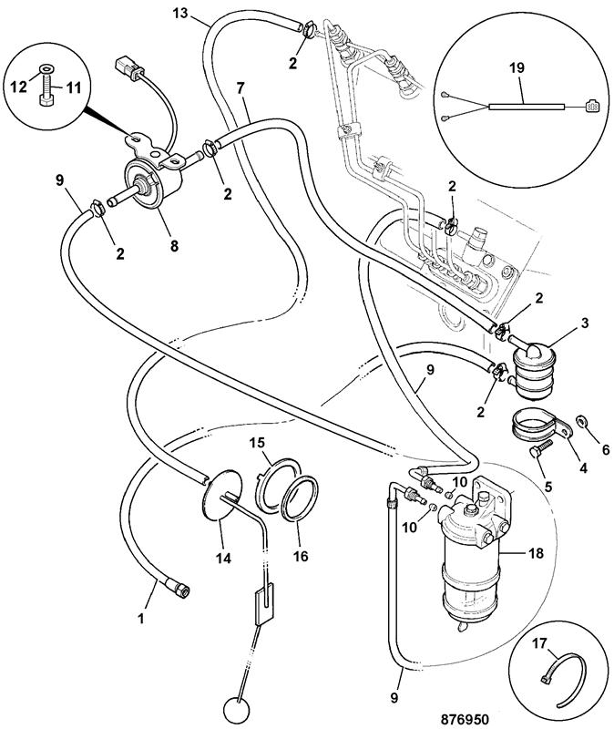 Spectre Premium Electric Fuel Pump Diagram