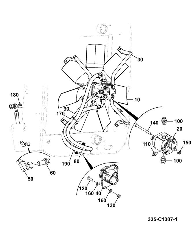 air conditioner fan motor parts diagram
