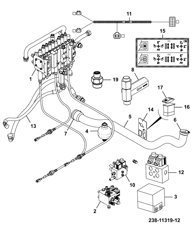 8025 ZTS ORFS Spare Parts Jcb Wiring Diagram on