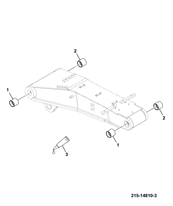 Js200 Wheeled Tier 2 Spare Parts
