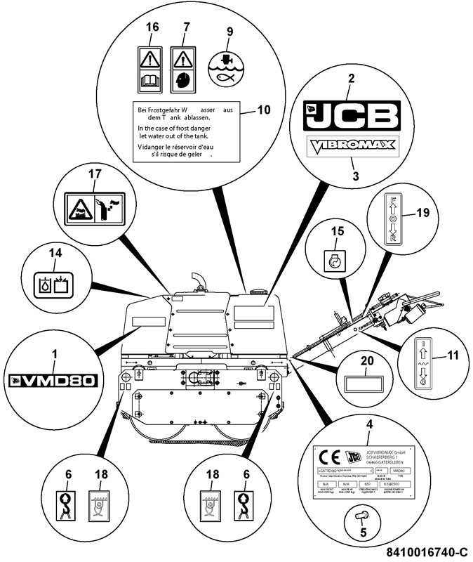 Vmd80 Spare Parts