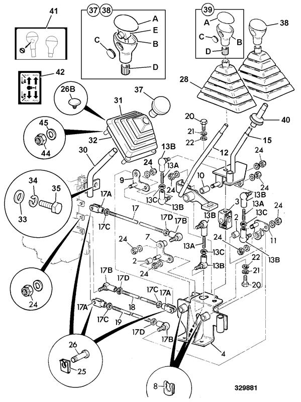 531-70 SWAY Spare Parts