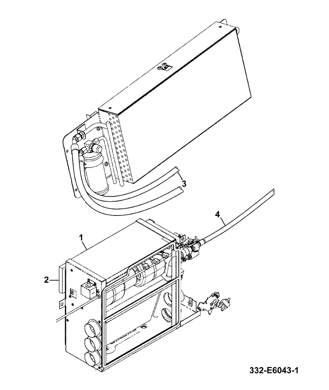 524 50 4 Wheel Steer Spare Parts