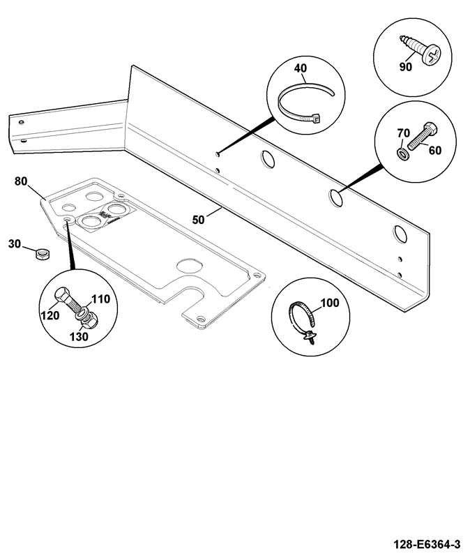 Centremount Direct Control 2ws Spare Parts