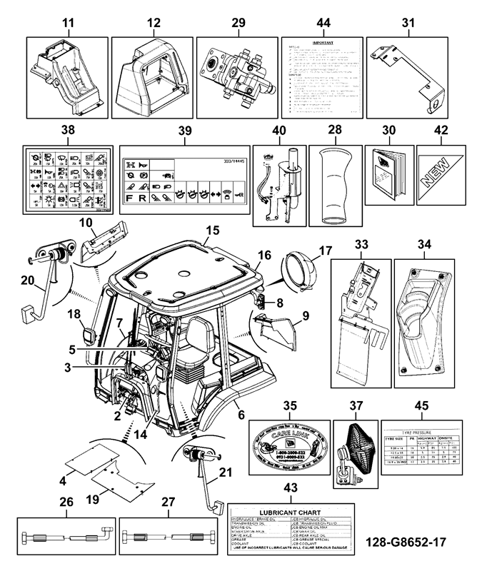 3dx spare parts