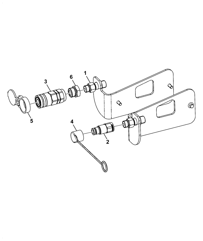 Double Acting Hydraulic Circuits Schematics