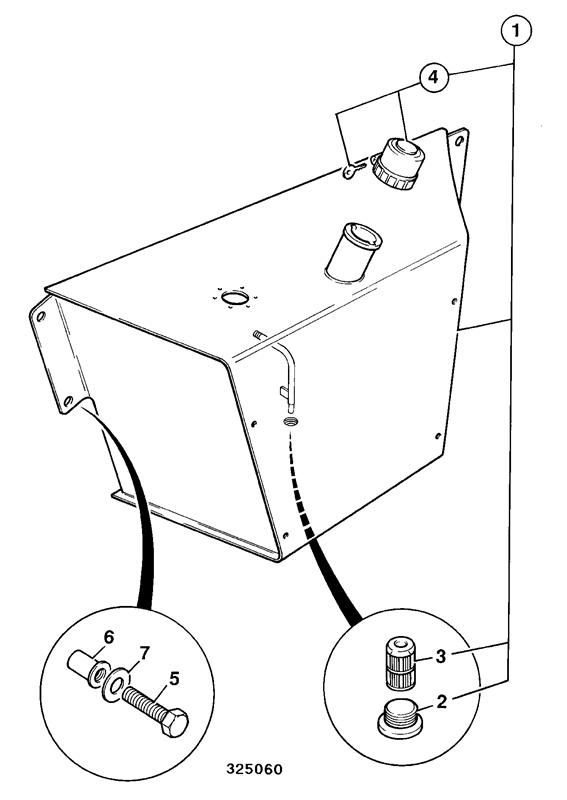 Diesel Tank Drawing