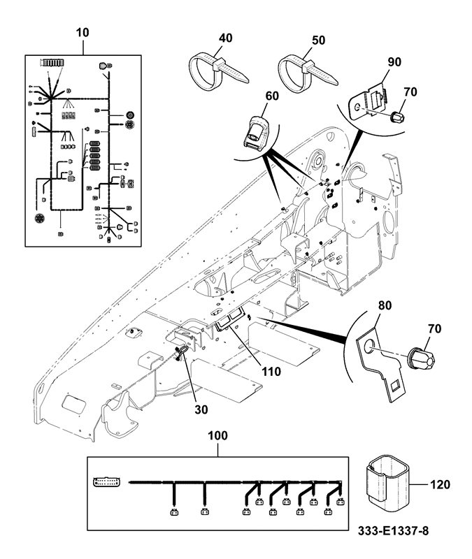 531 70 spare parts Forklift Wiring Diagram electrical installation assemblies chassis fitted
