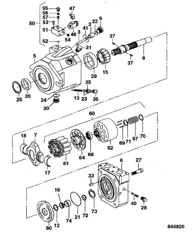Vm115 Spare Parts
