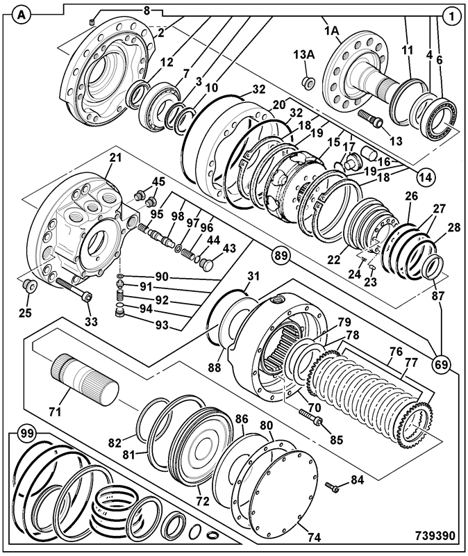150t T4f Engine Spare Parts