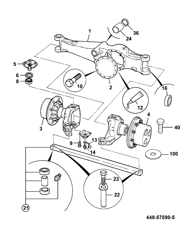 930-2WD Spare Parts