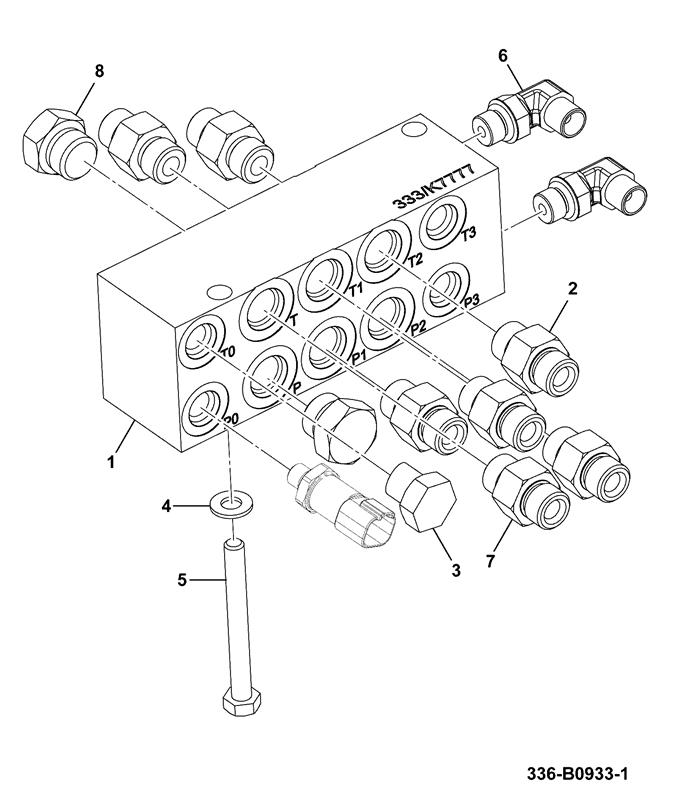 js131 long carriage spare parts