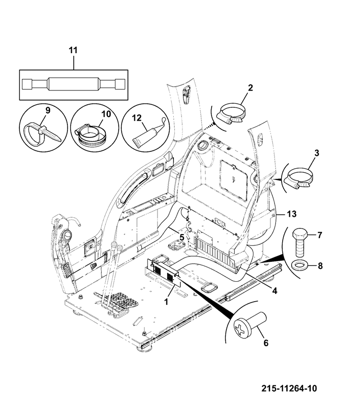 Js220 Long Carriage Spare Parts