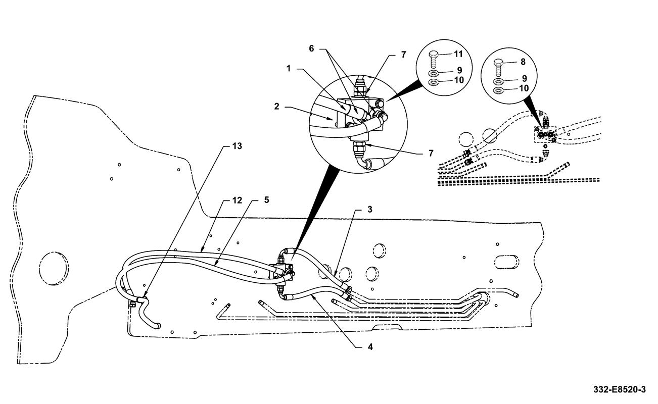 531 70 Spare Parts Jcb Wiring Schematics Hydraulics Steer Mode Valve Manual