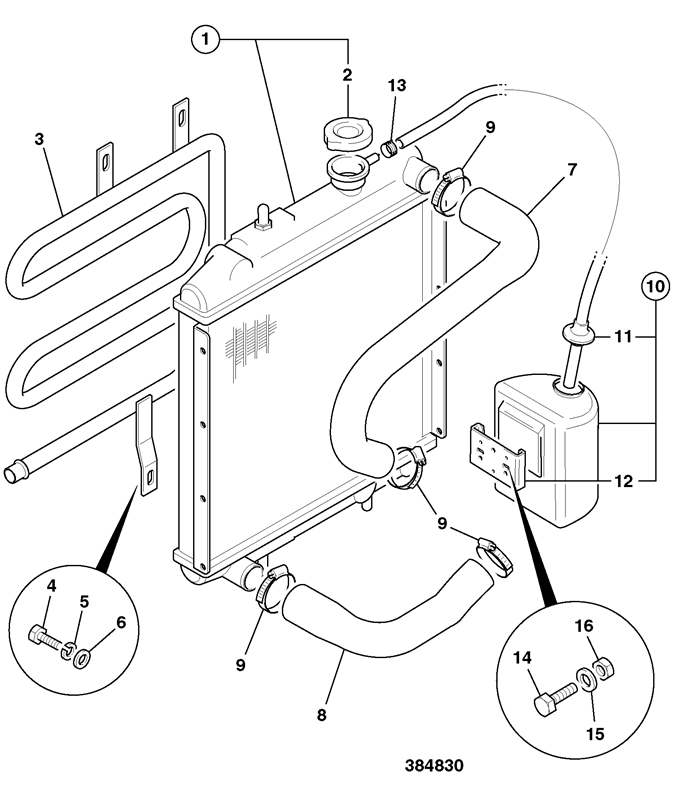 Jcb Cooling System Diagram