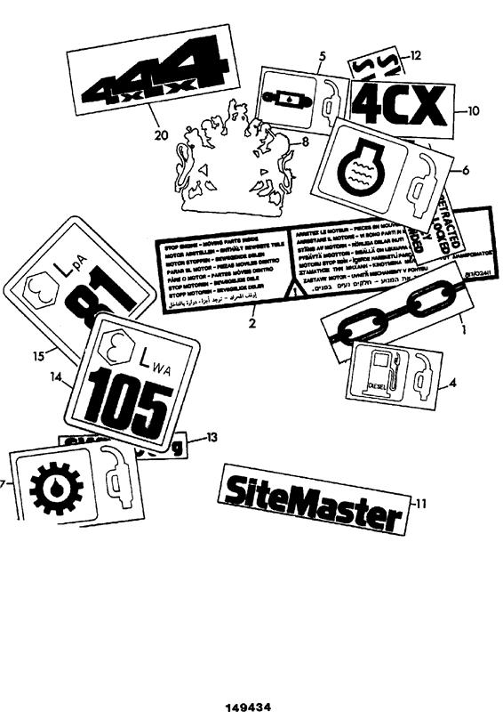 Jcb 444 Parts Manual