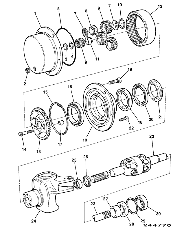 526s Spare Parts