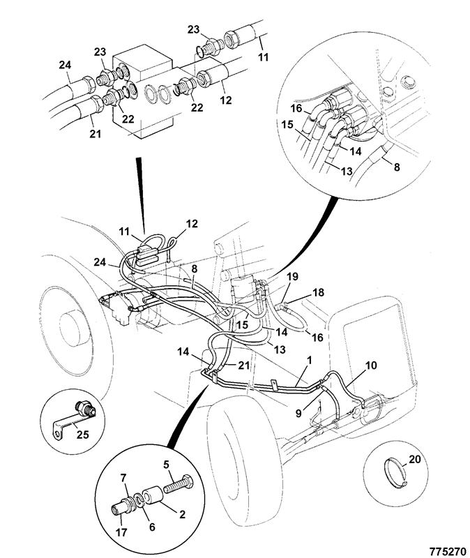 4cx 4ws Precision Control Spare Parts