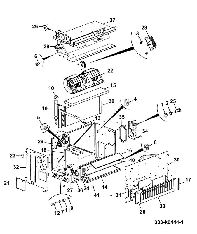 Js130 Long Carriage Demolition Spare Parts