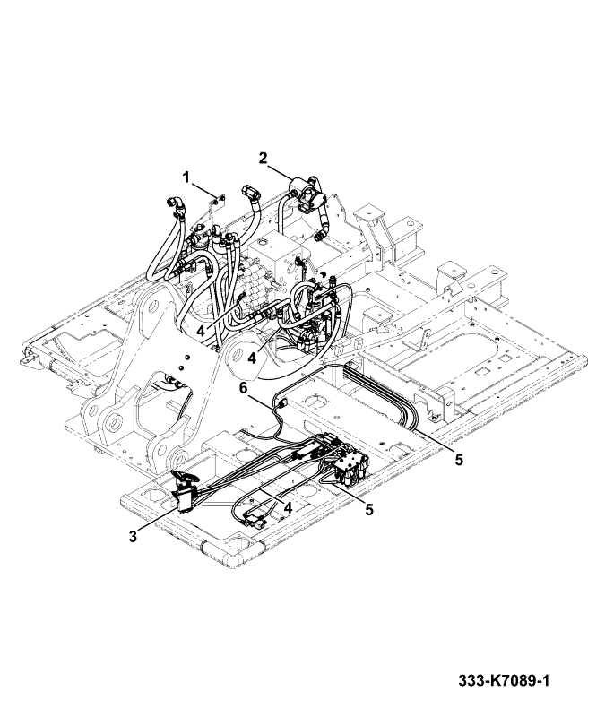 Js190 Narrow Long Carriage Tier 4 Spare Parts