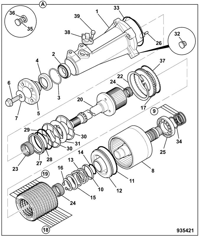 7230 POWERSHIFT TRANSMISSION Spare Parts