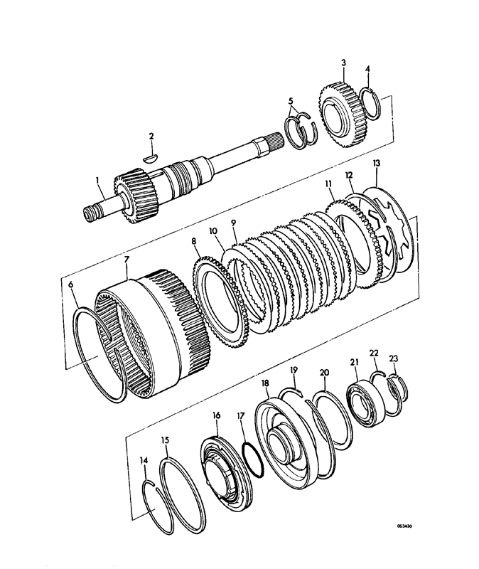 1550b 4wd Spare Parts
