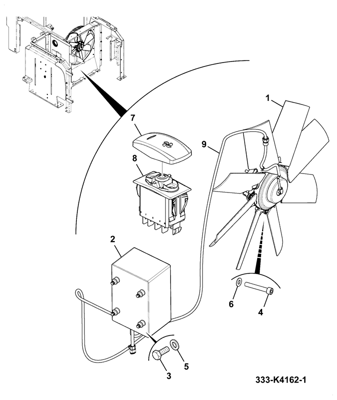 3 Speed Reversable Fan Wiring Diagram