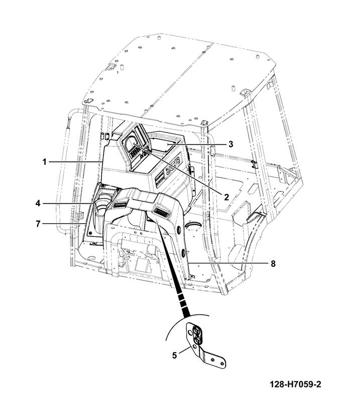 3cx 92hp tier 3  4wd manual spare parts
