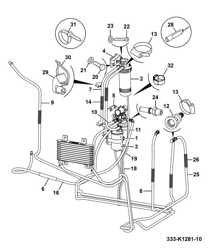 Js130 Long Carriage Tier 4 Spare Parts