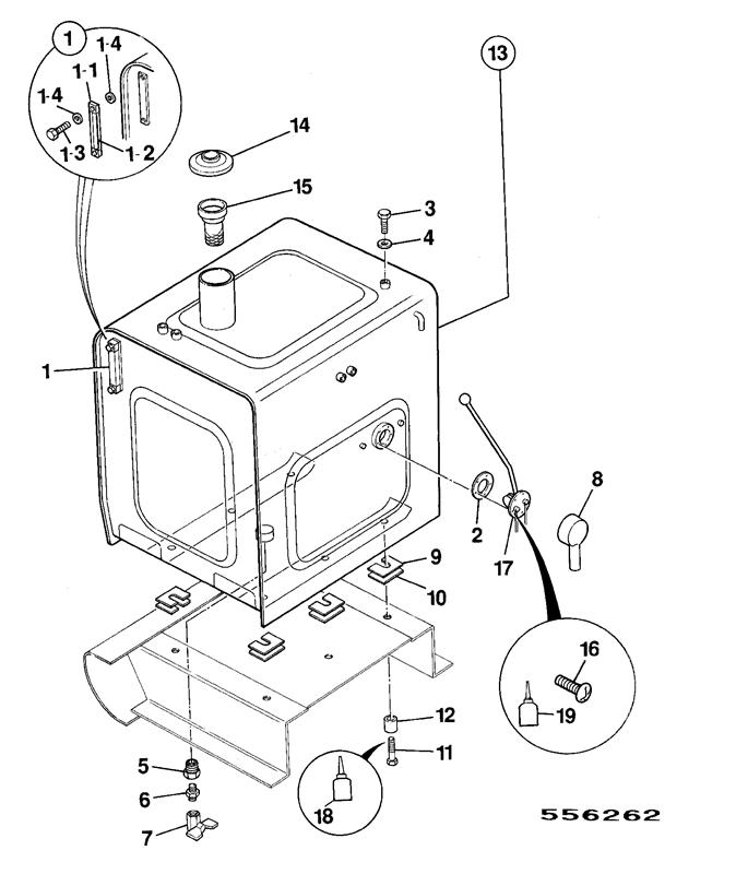 Perkins Fuel Filter Parts