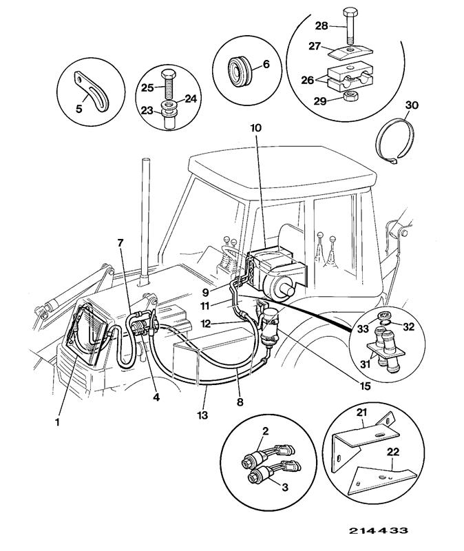 3CX SITEMASTER PRECISION CONTROL Spare Parts on
