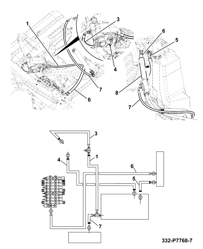 Schematic For Bobcat 753 Hydraulic Hose