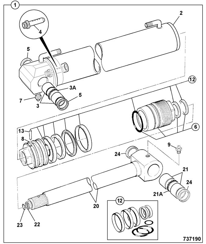 3cx Powershift Spare Parts