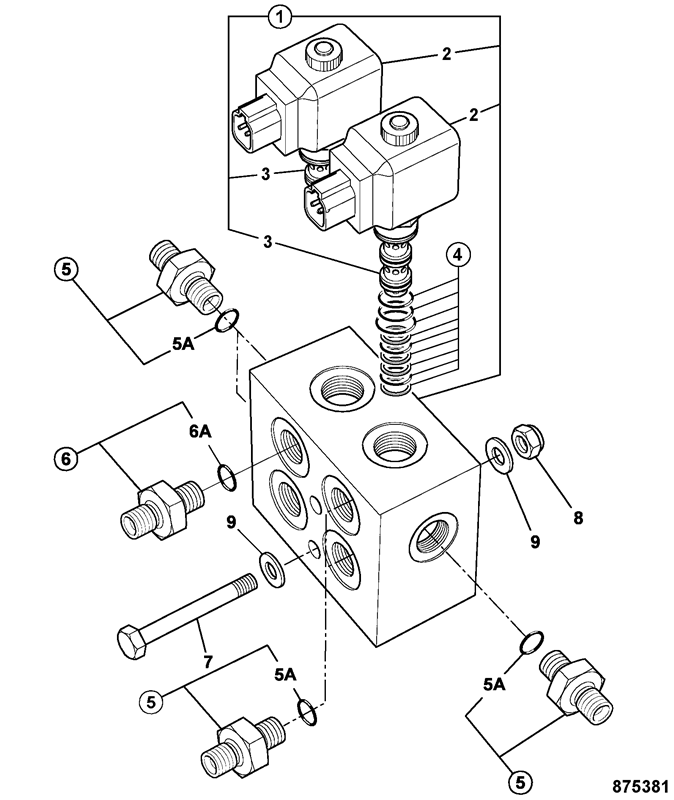 directional control valve schematic