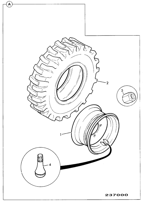 Michelin Tire Diagram