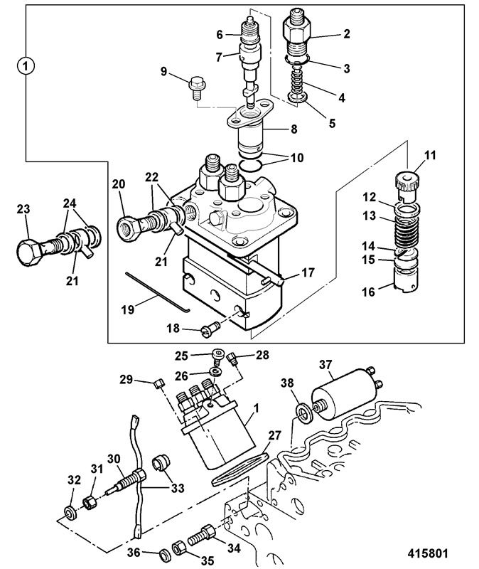 803 Super Spare Parts
