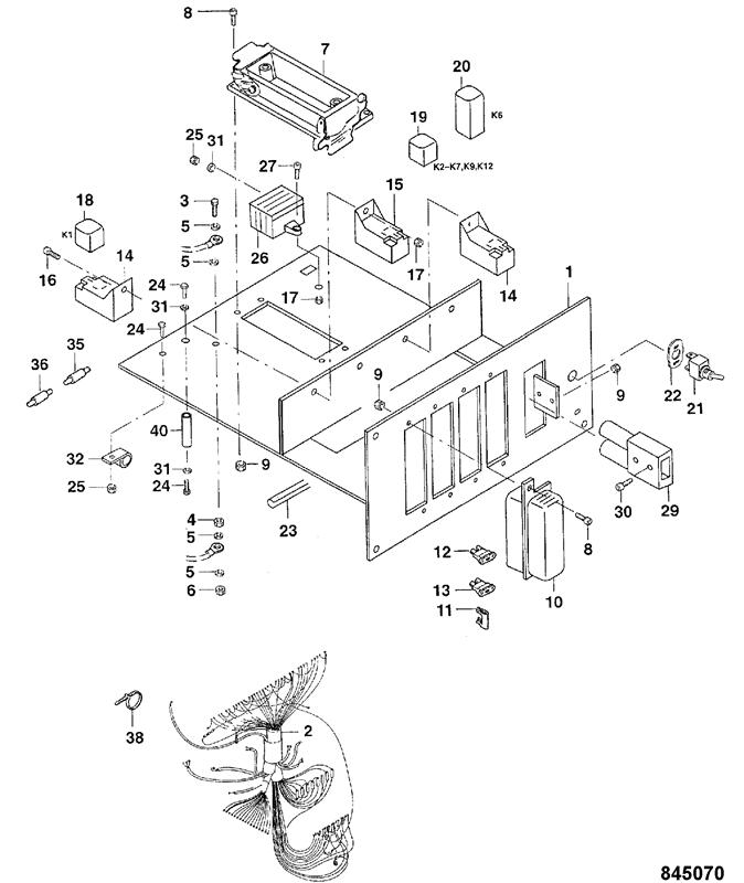 Relay Circuit Schematic