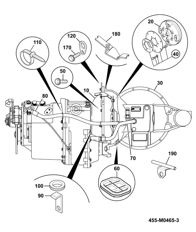 536 60ds spare parts JCB Backhoe Parts Diagram power shift auto shift cvt installation assemblies
