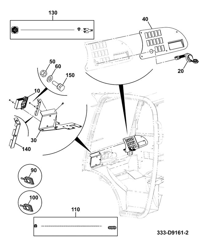 524-50 [4 Wheel Steer] Spare Parts
